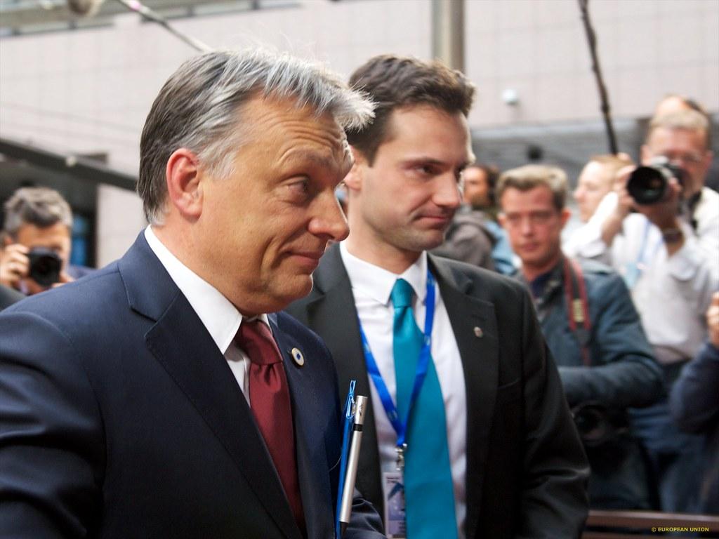 Communiqué: D'Pirate fuerderen Konsequenzen fir den Victor Orban