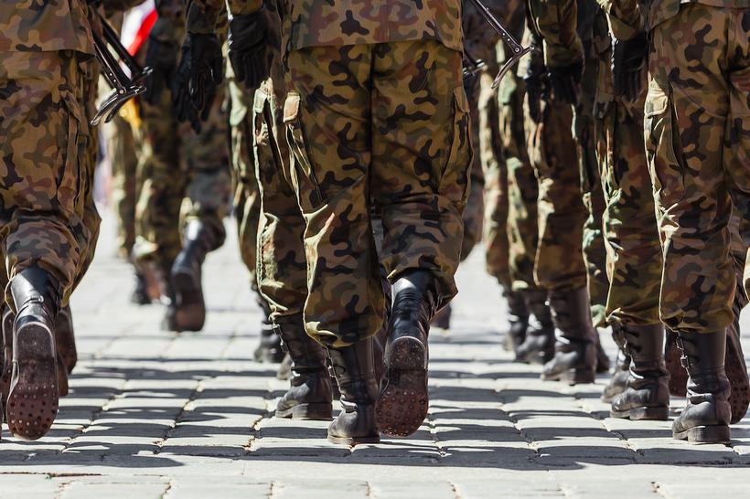 Rekrutement bei der Arméi